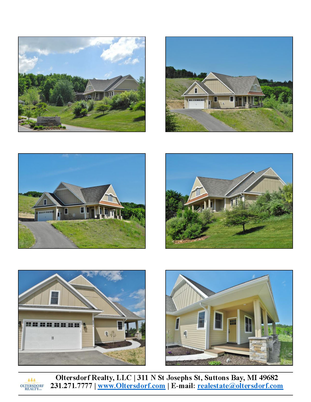 4314 Buteo Drive, Traverse City, MI – Newly Constructed Ranch Home Close To Downtown for sale by Oltersdorf Realty LLC - Marketing Packet (2).jpg
