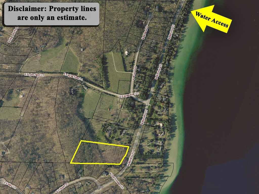 N Manitou Trail, Leland – 5.40 Acres & 50' Shared Water Access on North Lake Leelanau - For Sale by Oltersdorf Realty LLC (2).jpg