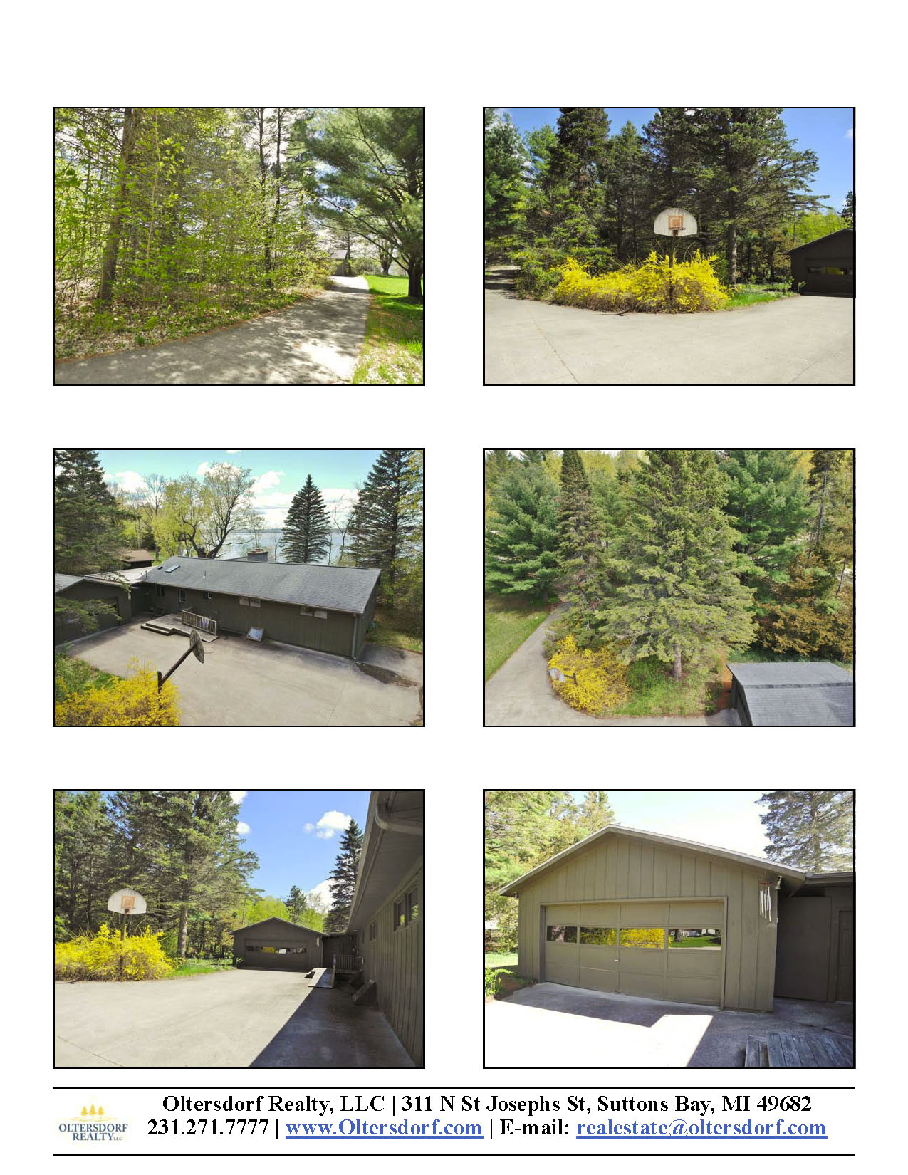 8164 S Lakeview Road, Traverse City, MI – Ranch Home & 100' on Lake Leelanau - For Sale by Oltersdorf Realty LLC - Marketing Packet (4).jpg