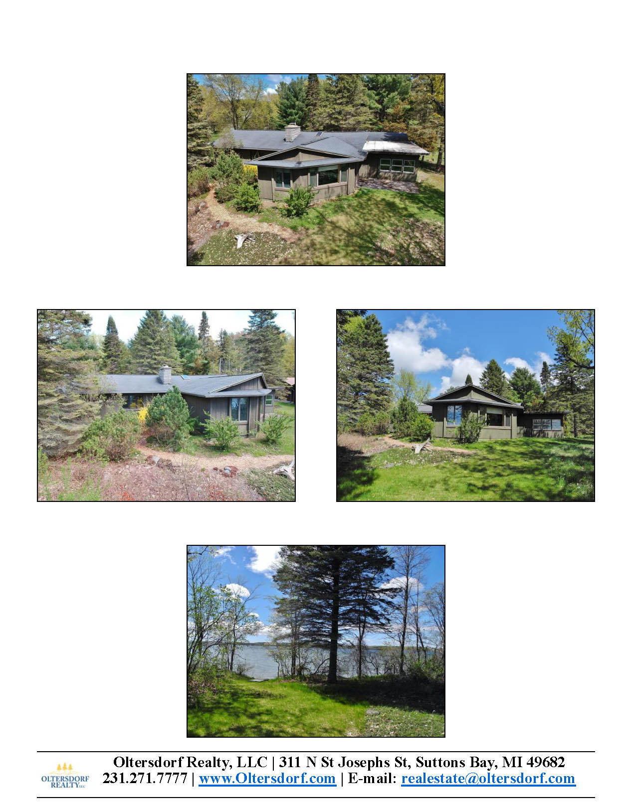 8164 S Lakeview Road, Traverse City, MI – Ranch Home & 100' on Lake Leelanau - For Sale by Oltersdorf Realty LLC - Marketing Packet (3).jpg