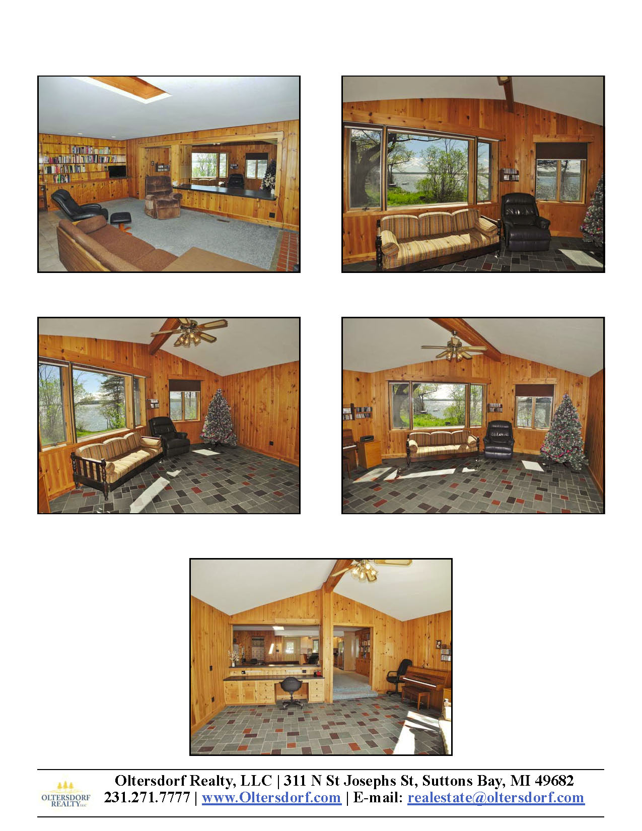 8164 S Lakeview Road, Traverse City, MI – Ranch Home & 100' on Lake Leelanau - For Sale by Oltersdorf Realty LLC - Marketing Packet (6).jpg