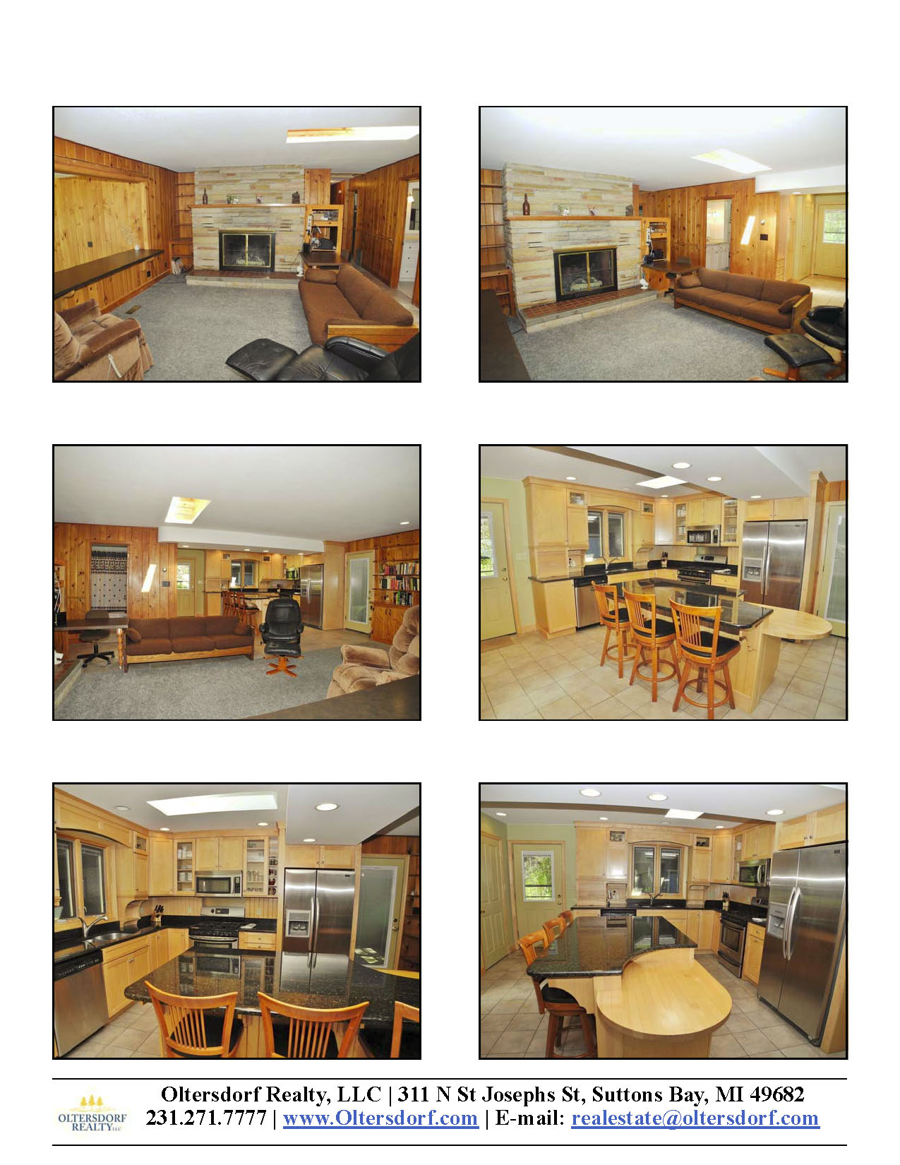 8164 S Lakeview Road, Traverse City, MI – Ranch Home & 100' on Lake Leelanau - For Sale by Oltersdorf Realty LLC - Marketing Packet (5).jpg