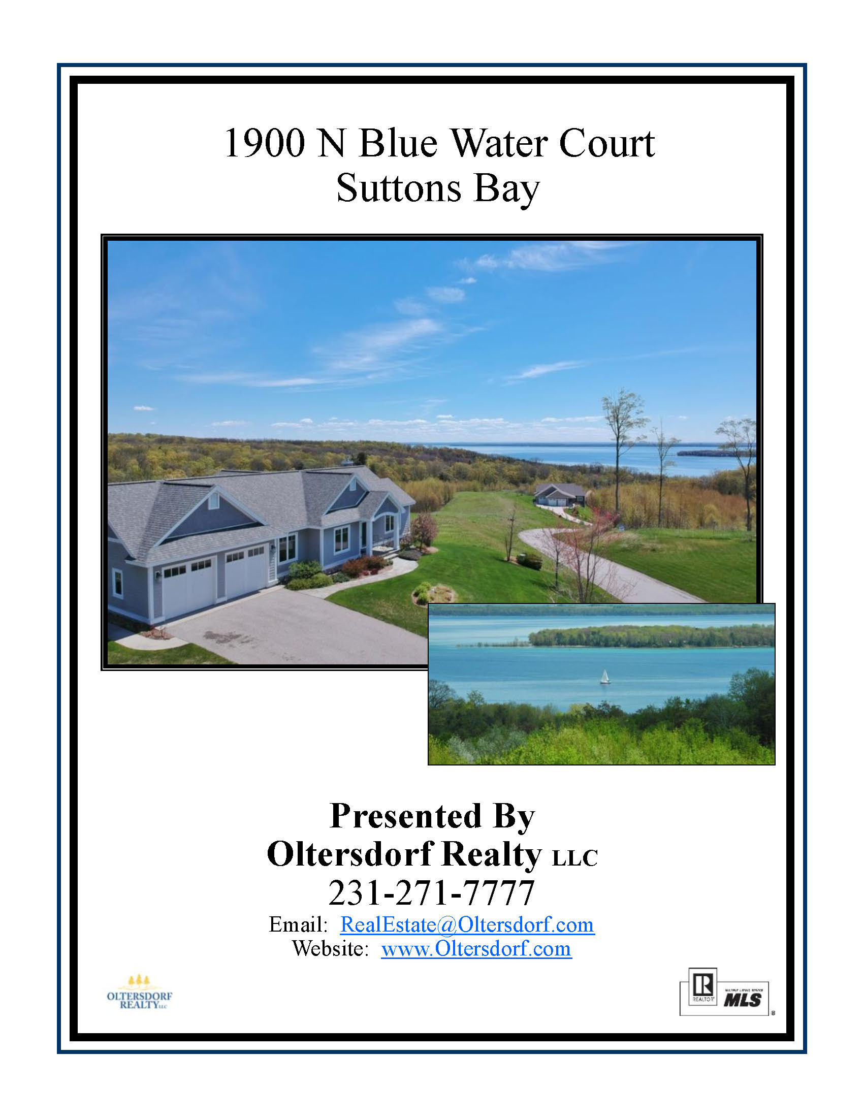 1900 N Blue Water Ct, Suttons Bay, MI – Ranch Home & Water Views - Marketing PAcket by Oltersdorf Realty LLC (1).jpg