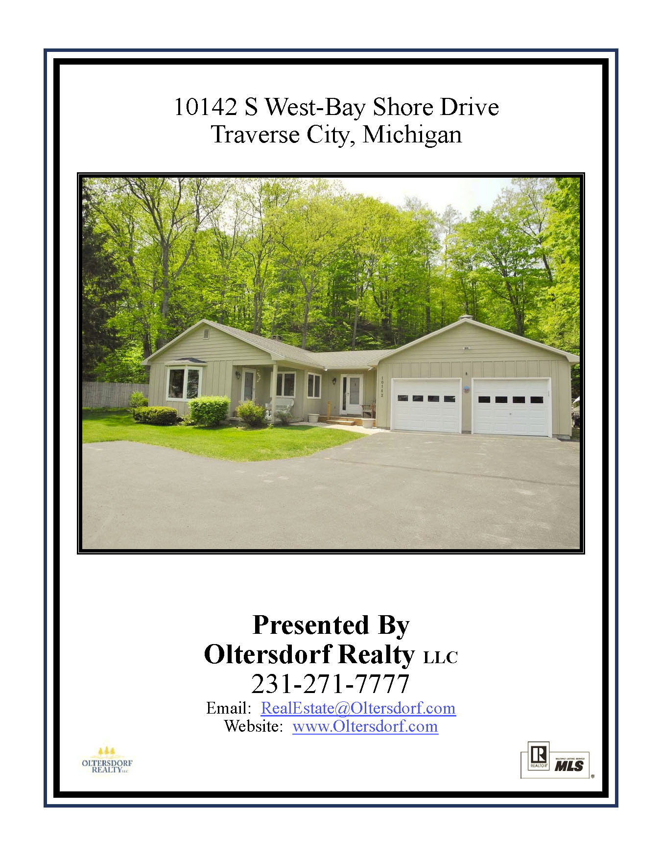 10142 S West Bay Shore Drive, Traverse City, MI - For sale by Oltersdorf Realty LLC - Marketing Packet (1).jpg