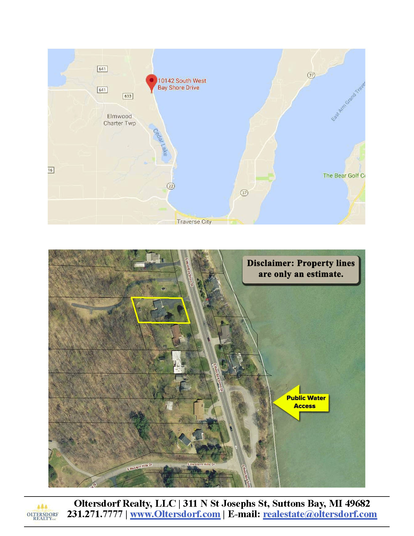 10142 S West Bay Shore Drive, Traverse City, MI - For sale by Oltersdorf Realty LLC - Marketing Packet (9).jpg