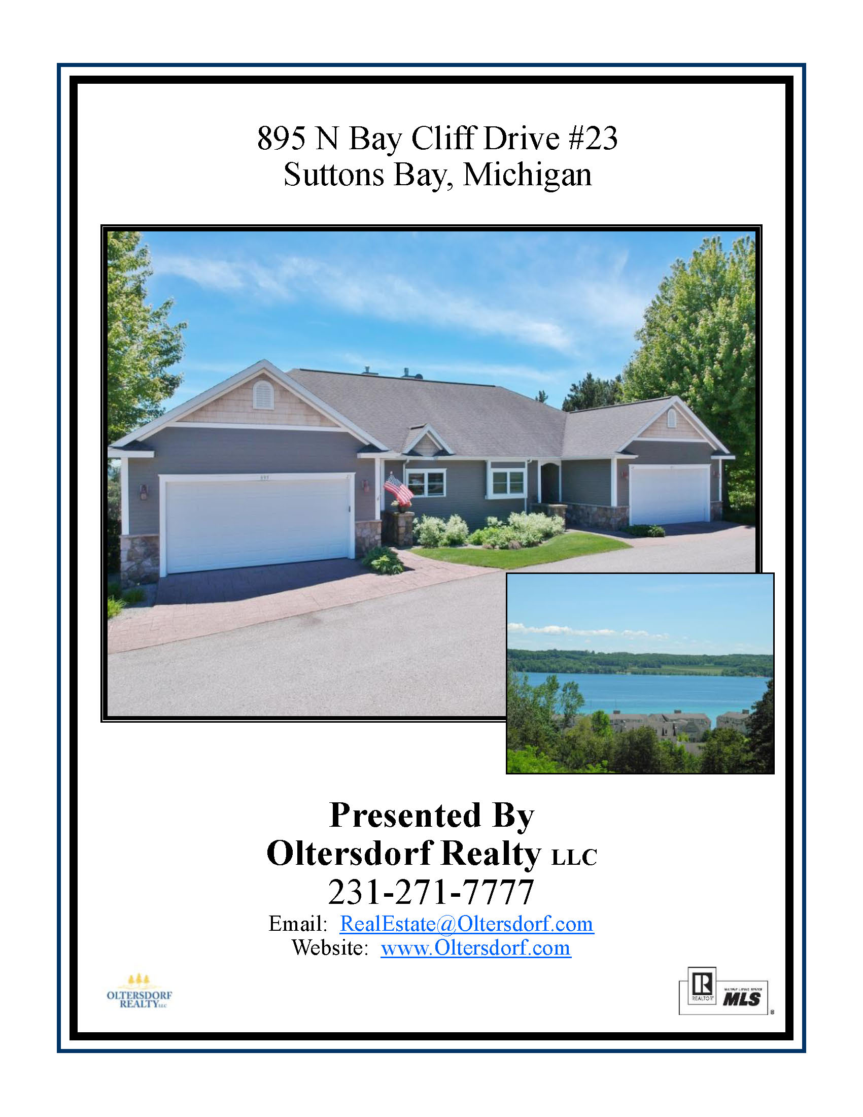 895 N Bay Cliff Drive #23, Suttons Bay, MI – Walkout Ranch Water View Condominium Marketing Packet (1).jpg