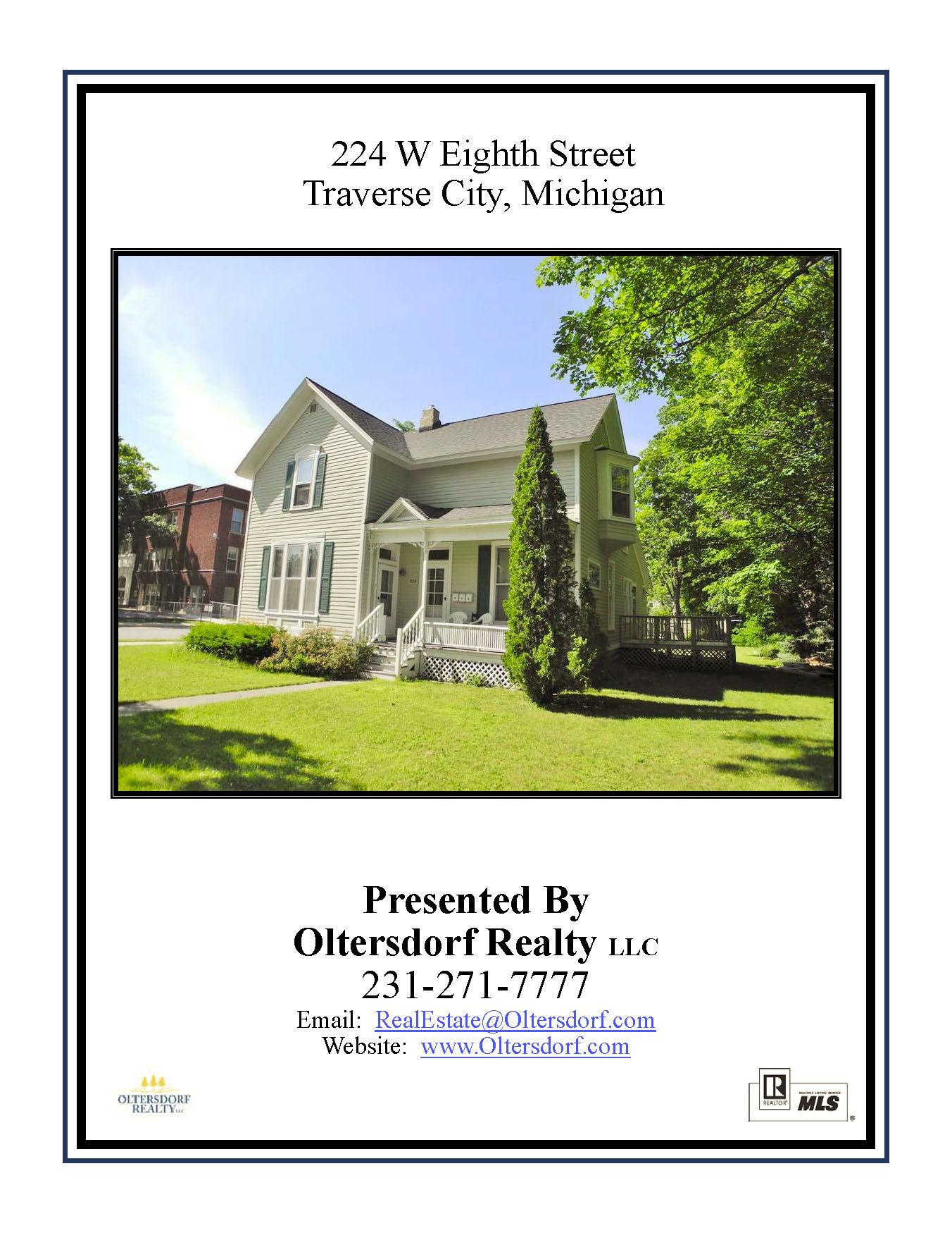 224 W Eighth St, Traverse City, MI – Downtown Traverse City Triplex Marketing Packet - For sale by Oltersdorf Realty LLC (1).jpg