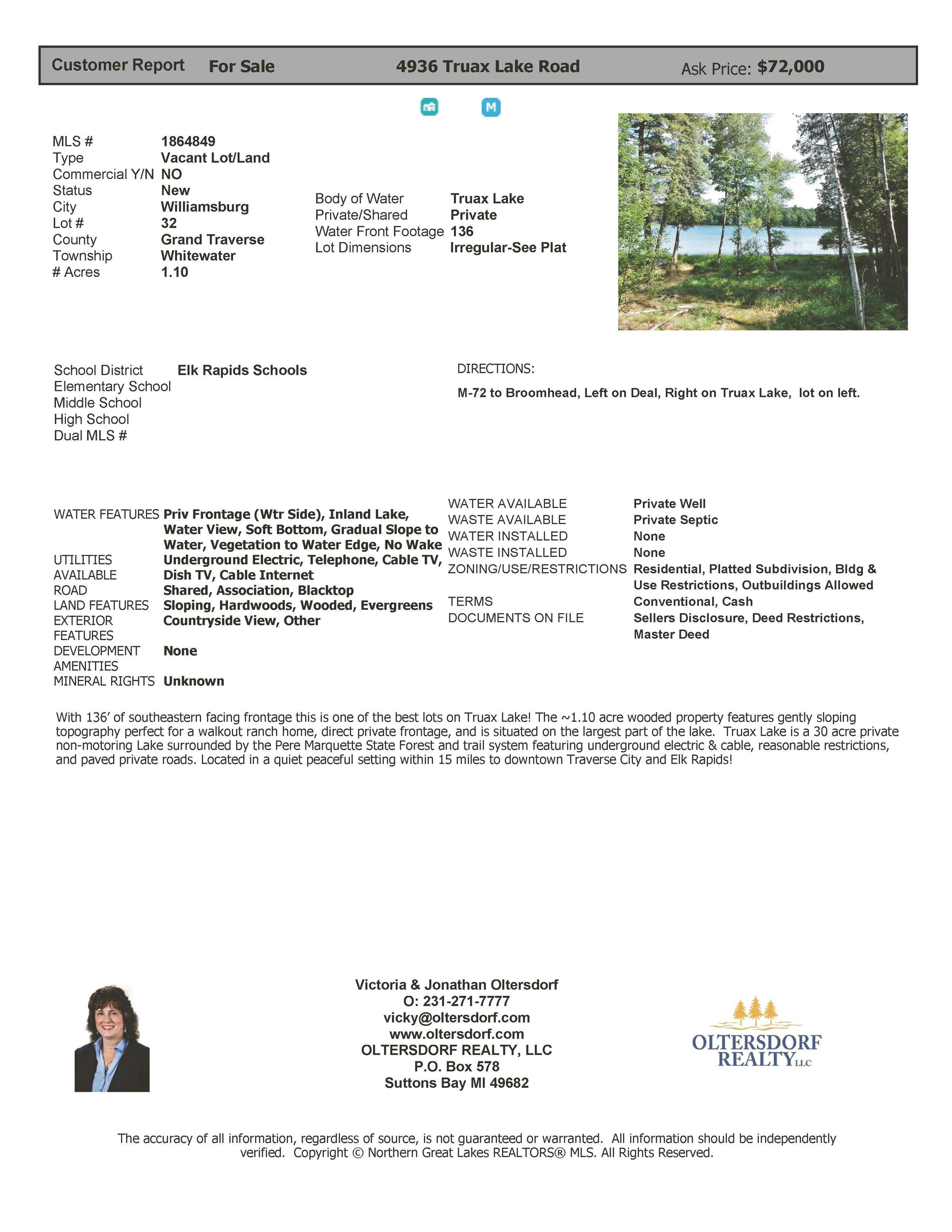 4936 Truax Lake Road, Williamsburg Marketing - For Sale by Oltersdorf Realty LLC (4).jpg
