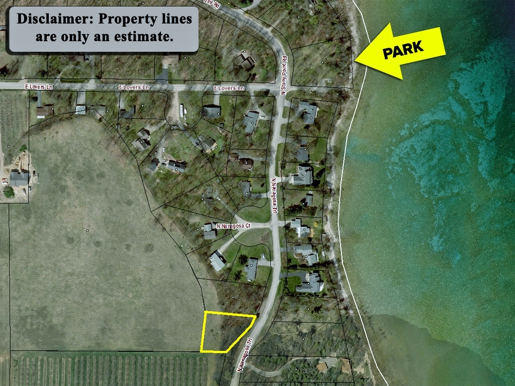N Nanagosa Trail, Suttons Bay, MI - ~0.48 Acre Vacant Parcel on Stony Point near Water Access - For Sale by Oltersdorf realty LLC (11).jpg