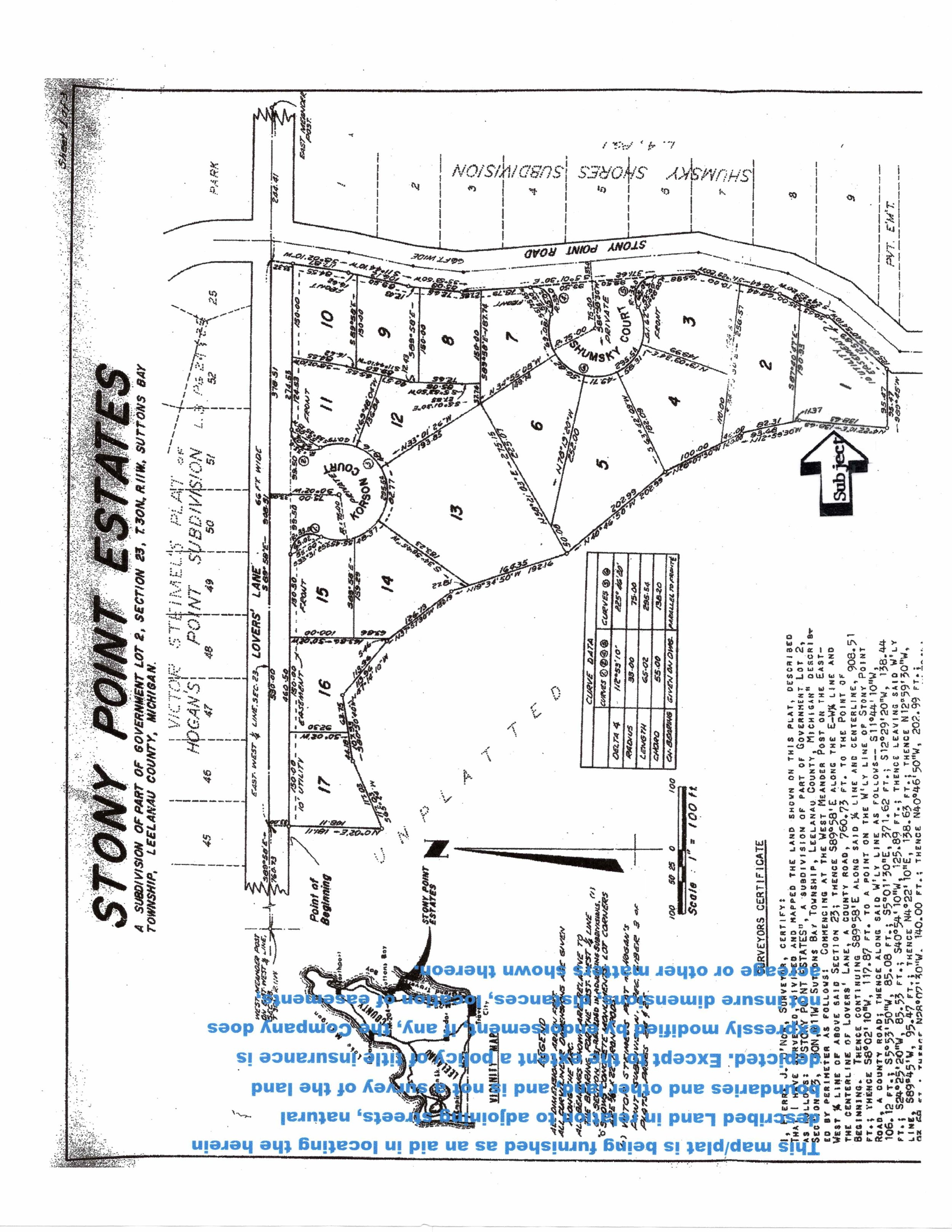N Nanagosa Trail, Suttons Bay, MI - ~0.48 Acre Vacant Parcel on Stony Point near Water Access - Marketing Packet (2).jpg