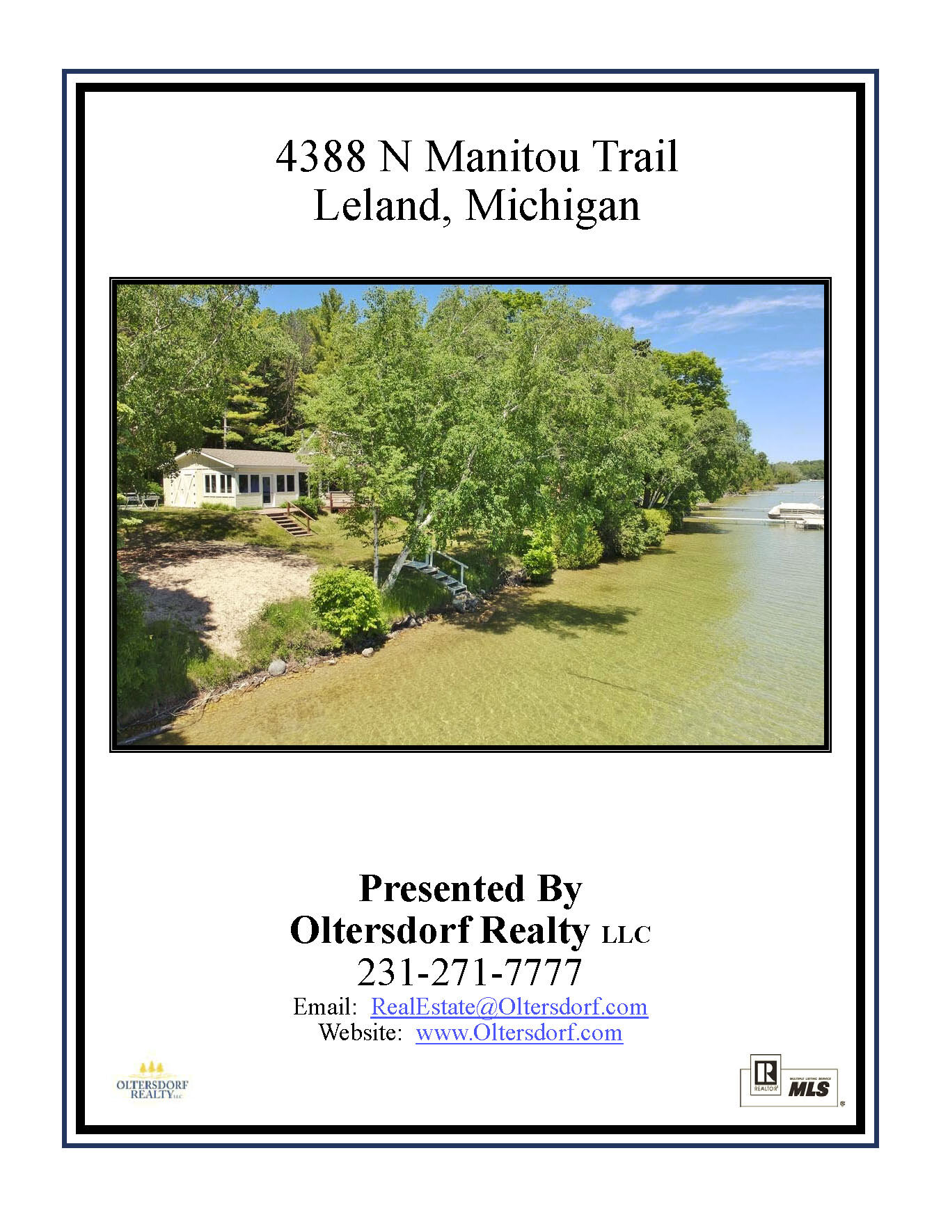 4388 N Manitou Trail, Leland - House Only Marketing Packet_Page_01.jpg