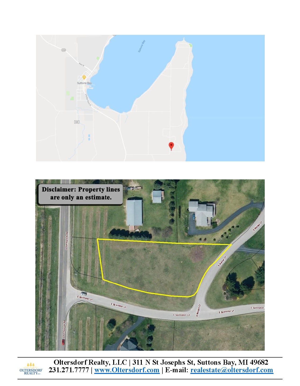 Lot 21 – S Walden Court, Suttons Bay, MI – Water View Vacant Lot Marketing Packet (5).jpg