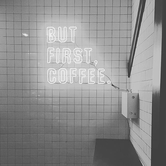 thoughts about tomorrow: ☕️