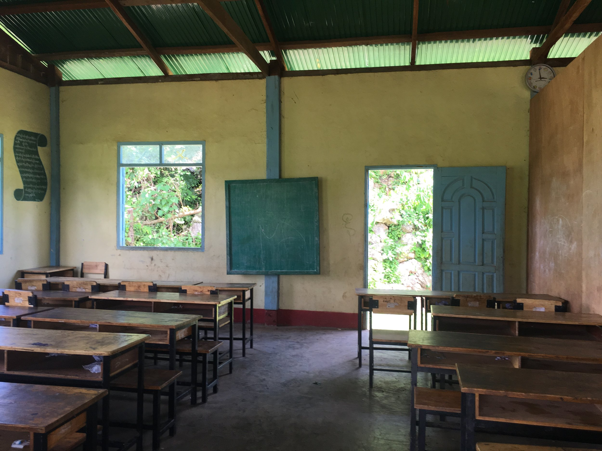 Classroom at K'law Gaw School