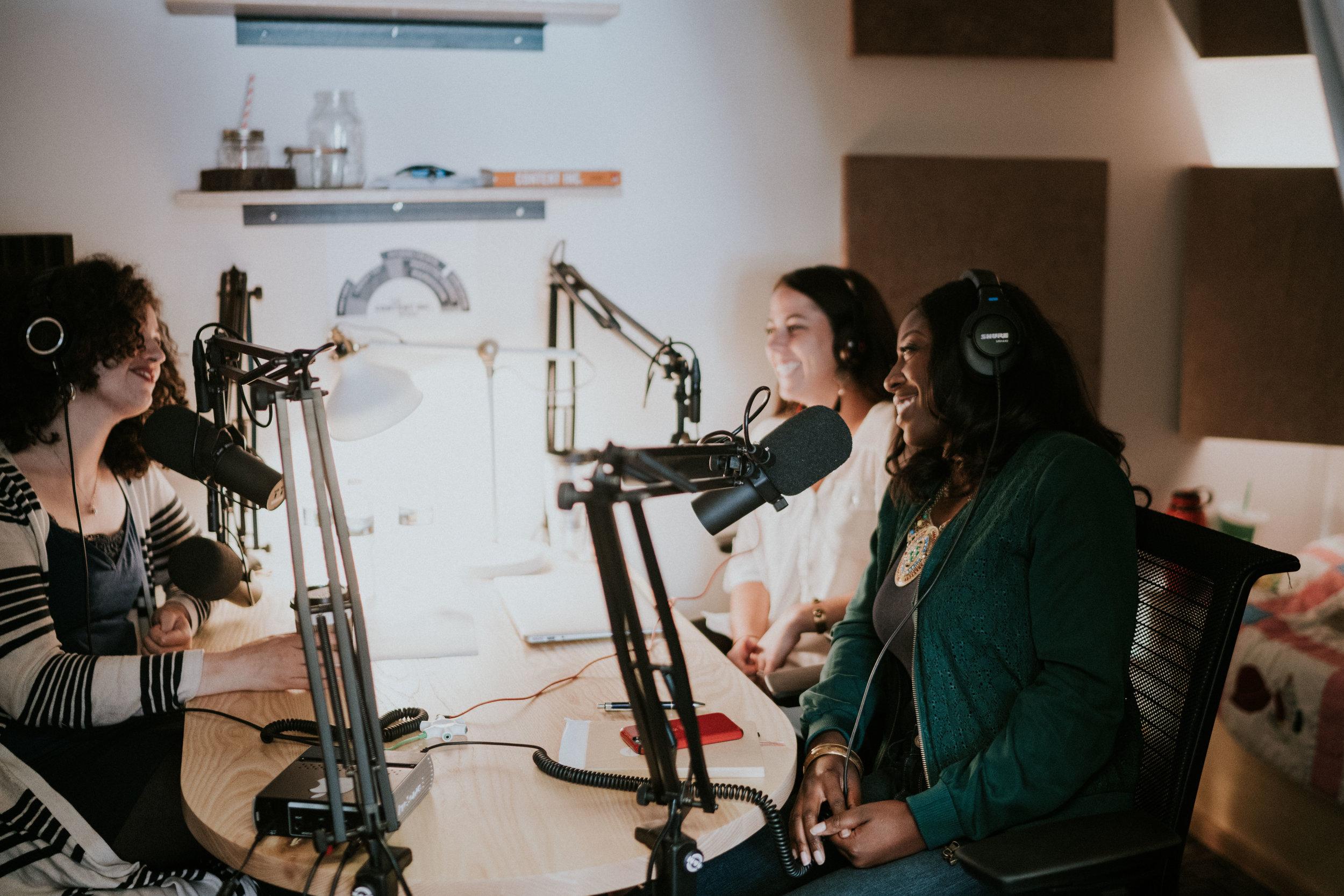 Inside the EC Podcast Studio