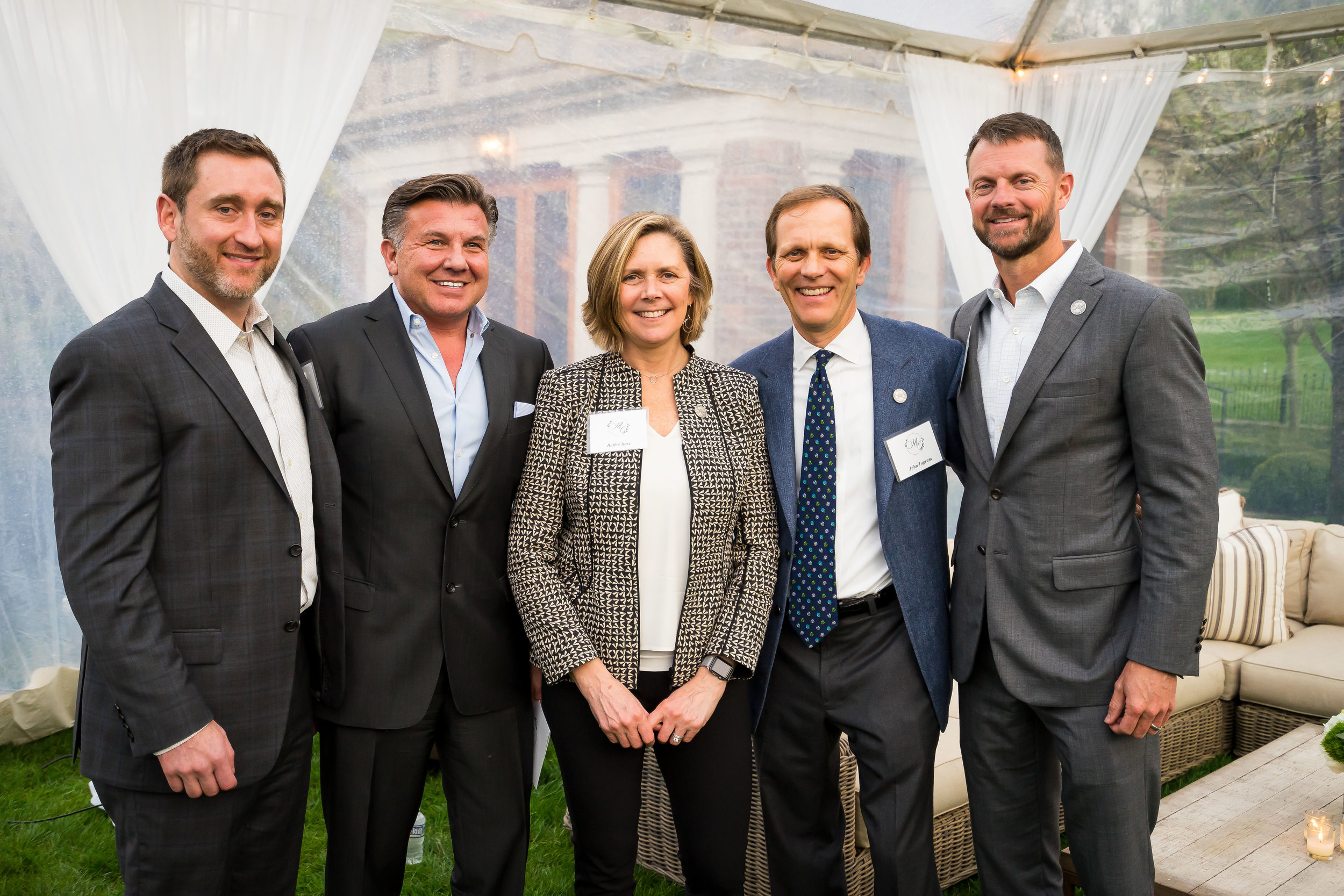 Pictured above : Michael Brody-Waite, Michael Burcham, Beth Chase, John Ingram (McWhorter Circle Inaugural Chair), and Stuart McWhorter at The McWhorter Circle's Founding Reception