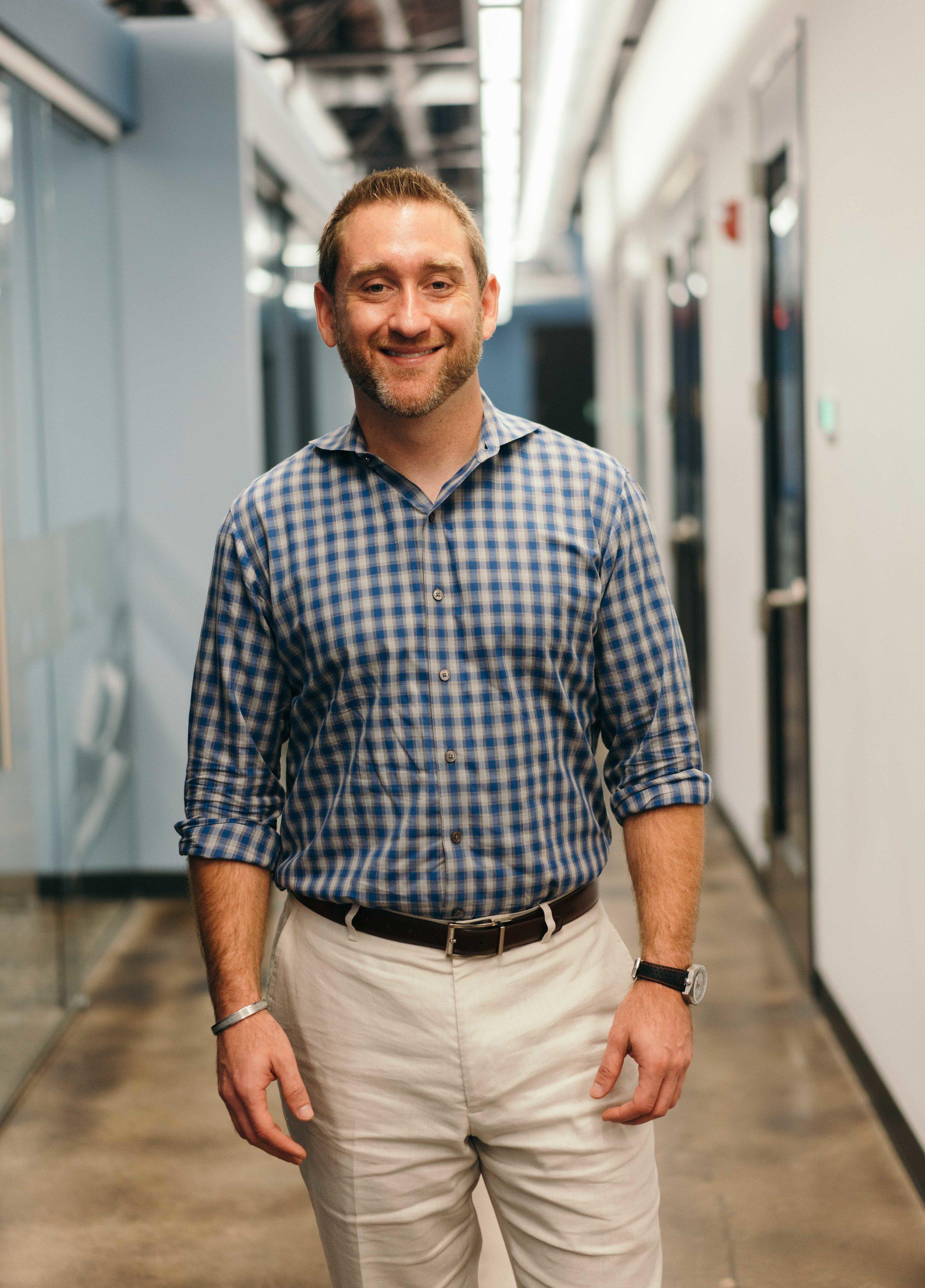 Michael Brody-Waite, CEO of the Nashville Entrepreneur Center