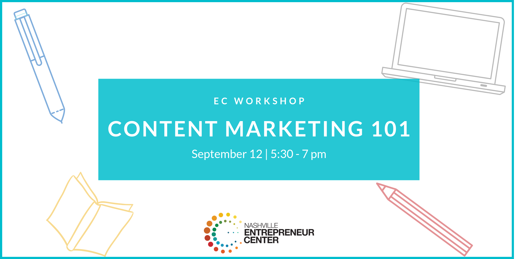 How to build a strategy and create content that attracts potential clients, the basics of social media content creation, DIY entrepreneur tools and tricks, and General Q&A.