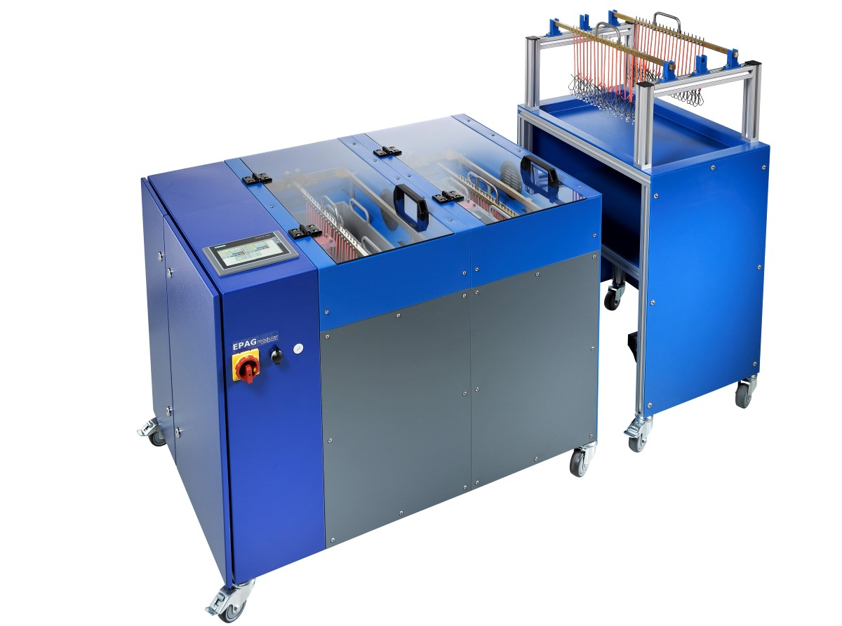 elektrolytische polijstmachine