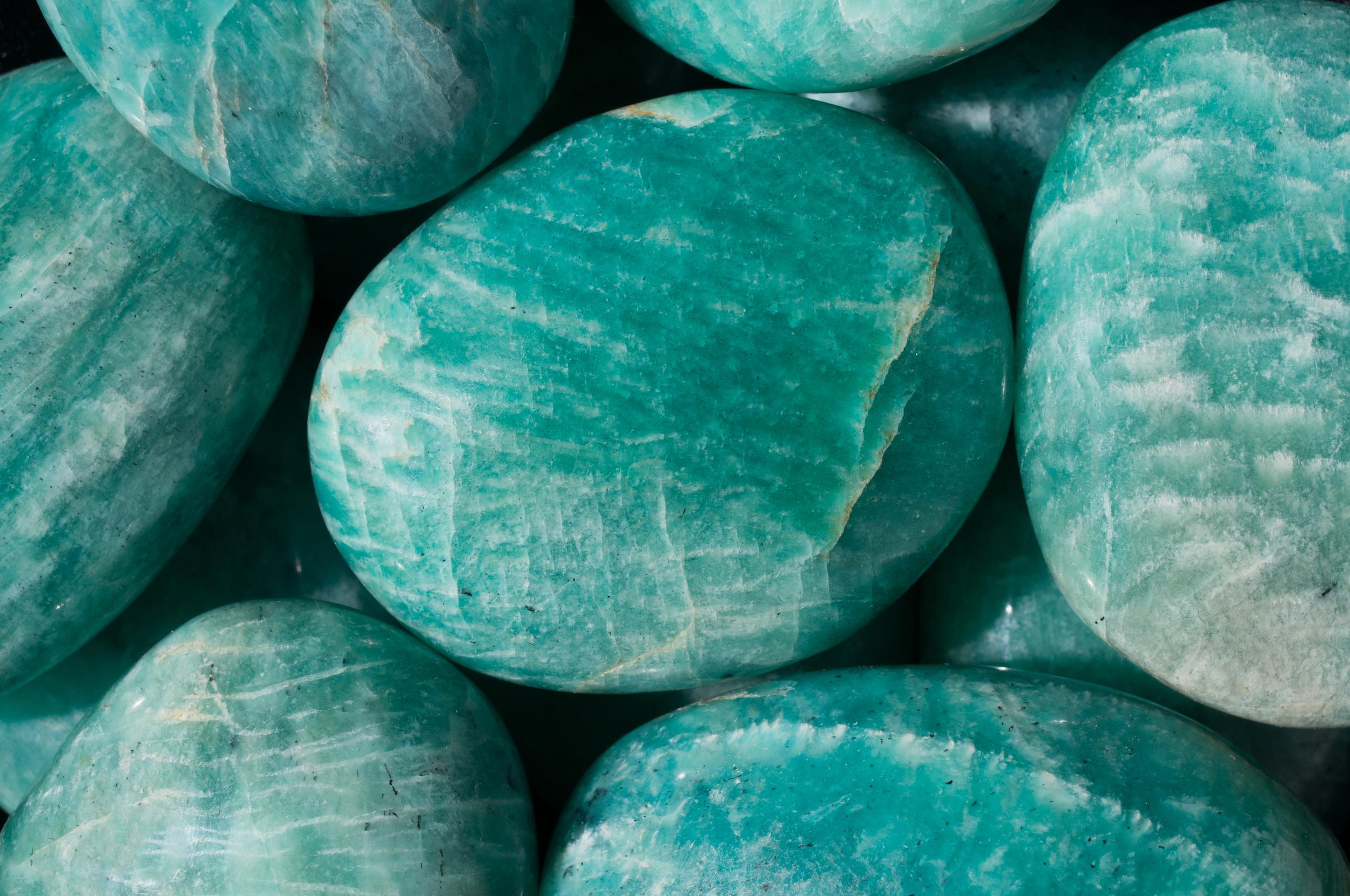 Amazonite Pebbles
