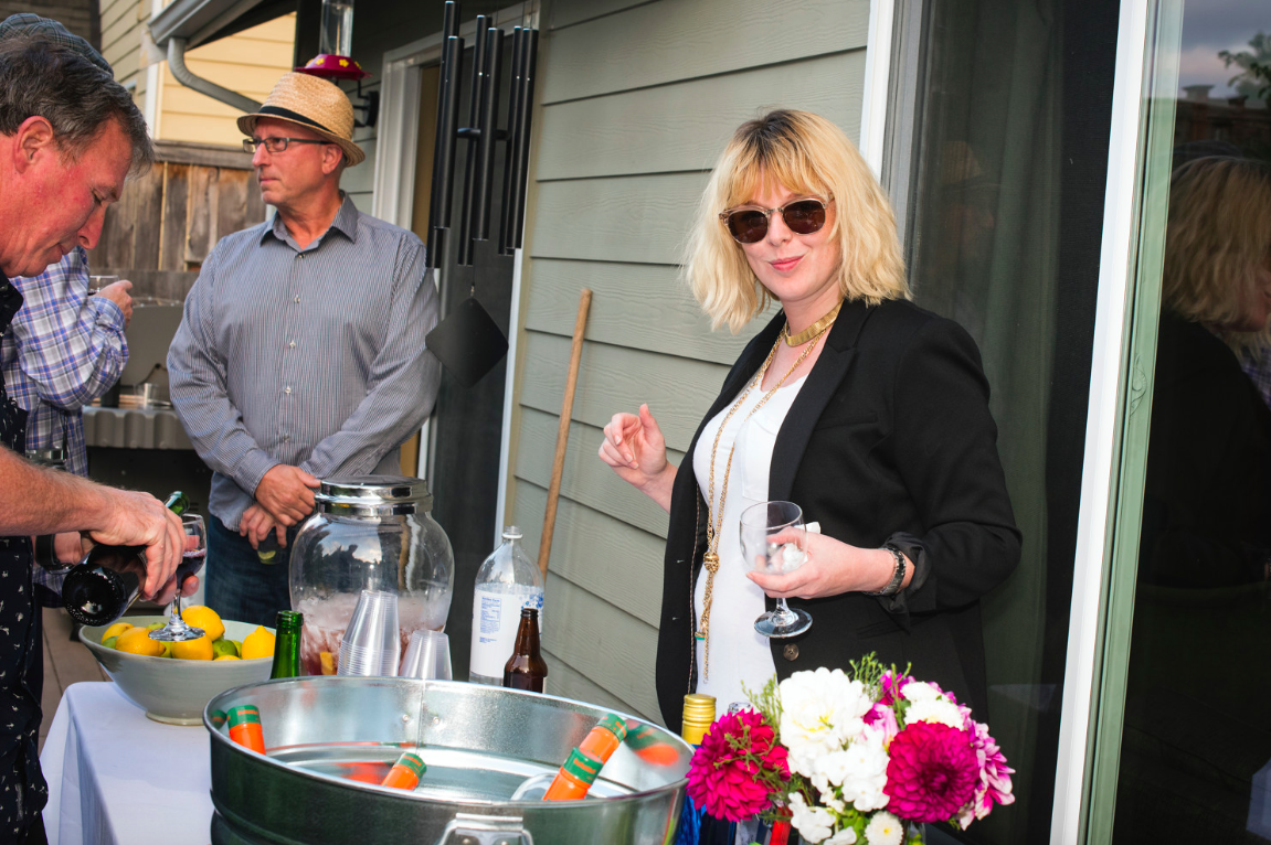 bartender-at-backyard-engagement-party