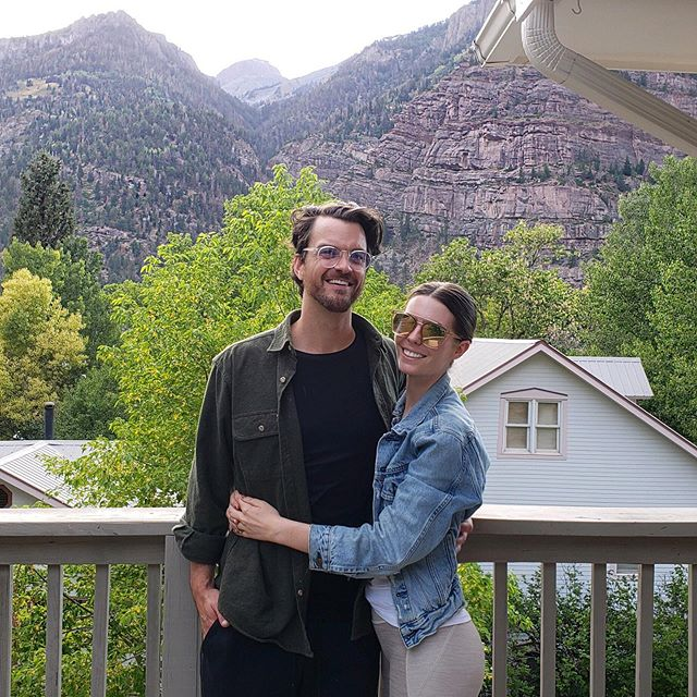 "#tbt to when @dseuelly and @mikeseuell treated us to a quick overnight trip to celebrate our second wedding anniversary. Sorry Leavenworth, but you can't compete with ""The Switzerland of America"" ⛰🌲 #Ouray #ColoRADo"