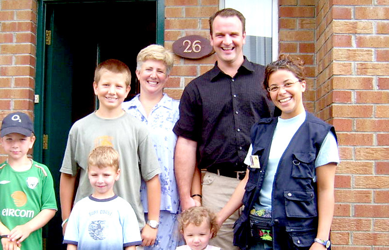 One of our host families