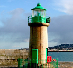 Lighthouse in Dun Laoghaire