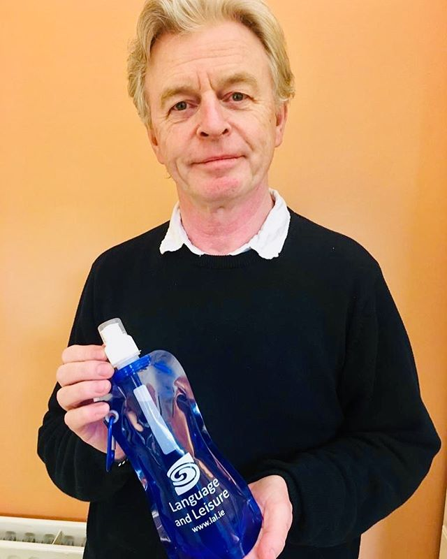 At Language and Leisure we want to be as eco friendly as possible! To reduce our waste this summer we are giving every student and group leader a gift of a reusable water bottle! #lalireland #ecofriendly #gogreen #learnenglish