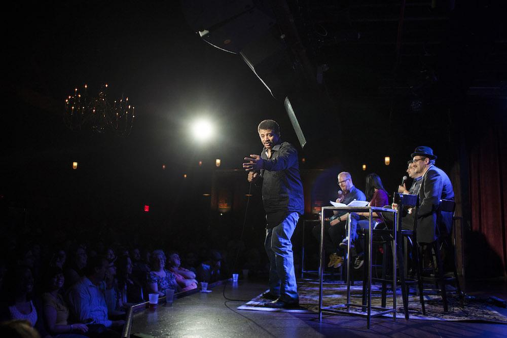 Neil deGrasse Tyson hosts StarTalk Live! at the Bell House  © David Andrako