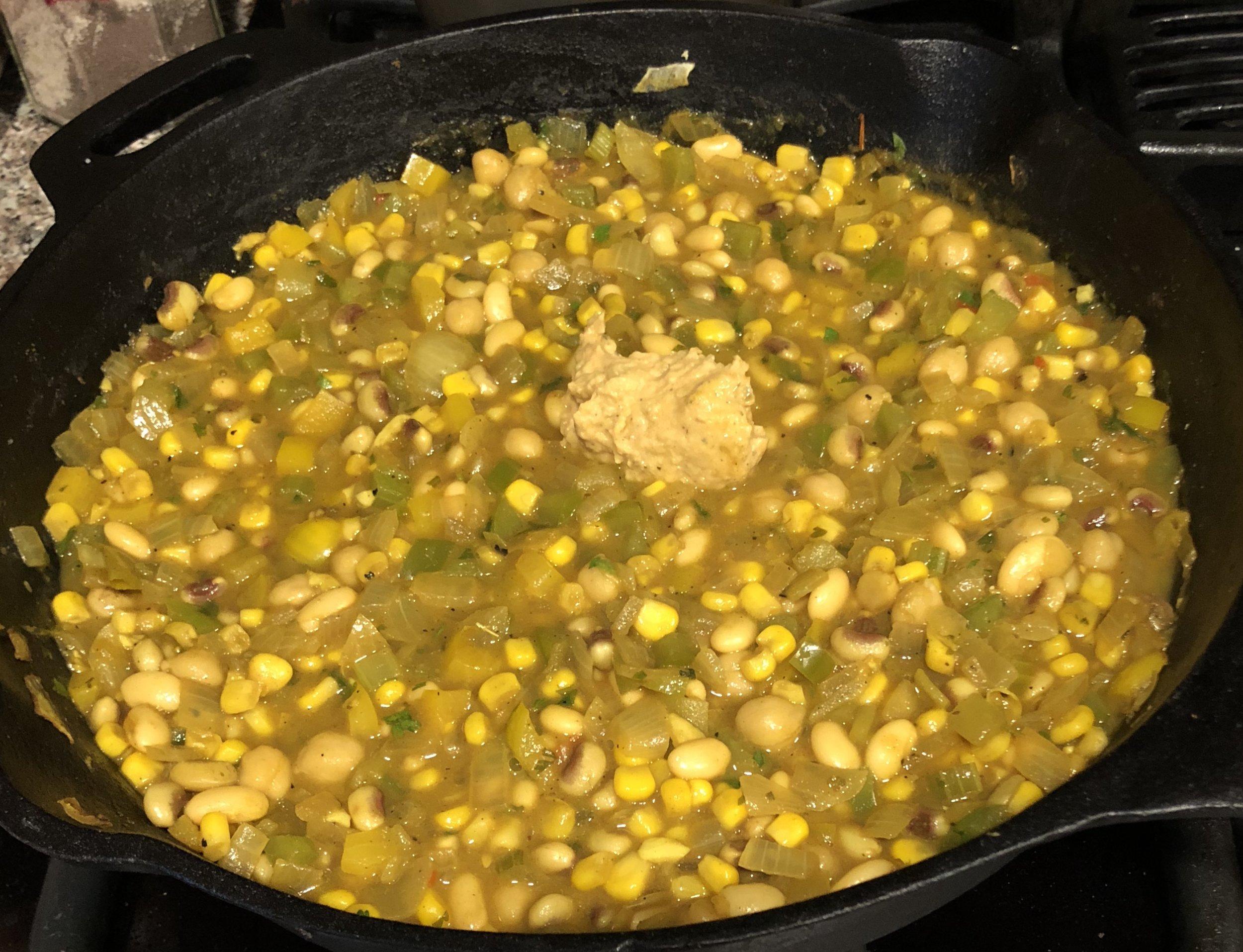 Green Chili Chili Cooking With Added Hummus.jpg