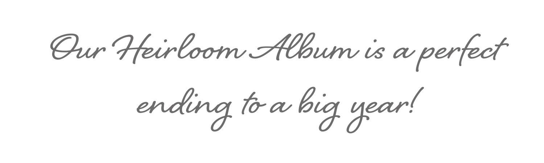 heirloom baby album