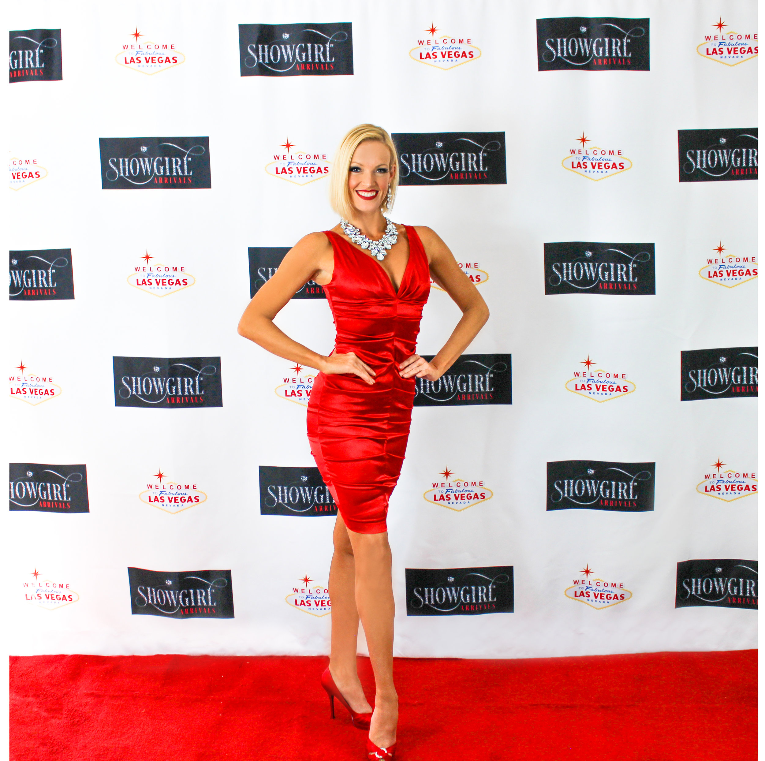 Encore - A Red Satin Dress