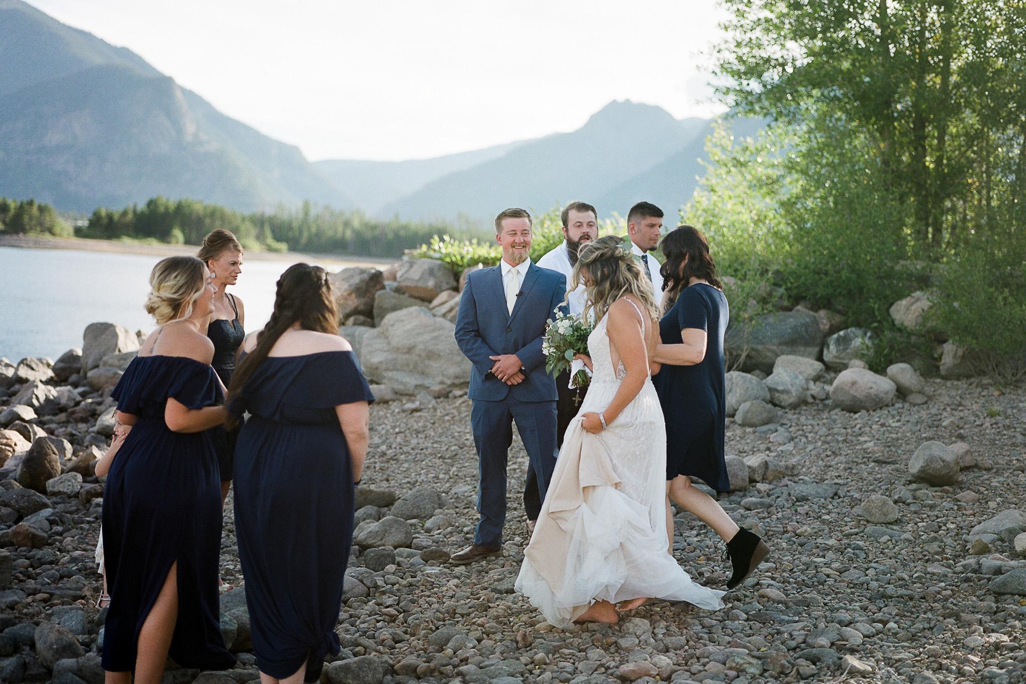 Colorado Mountain Wedding Fine Art Film Photography Dillon Colorado-10.jpg