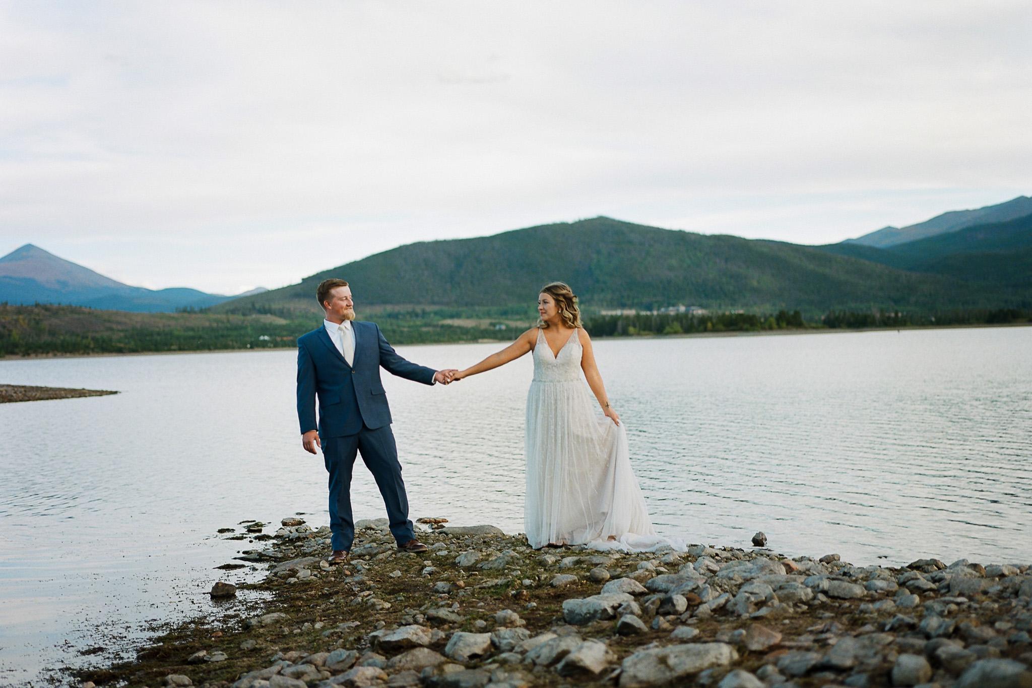 Colorado Mountain Wedding Fine Art Film Photography Dillon Colorado-15.jpg