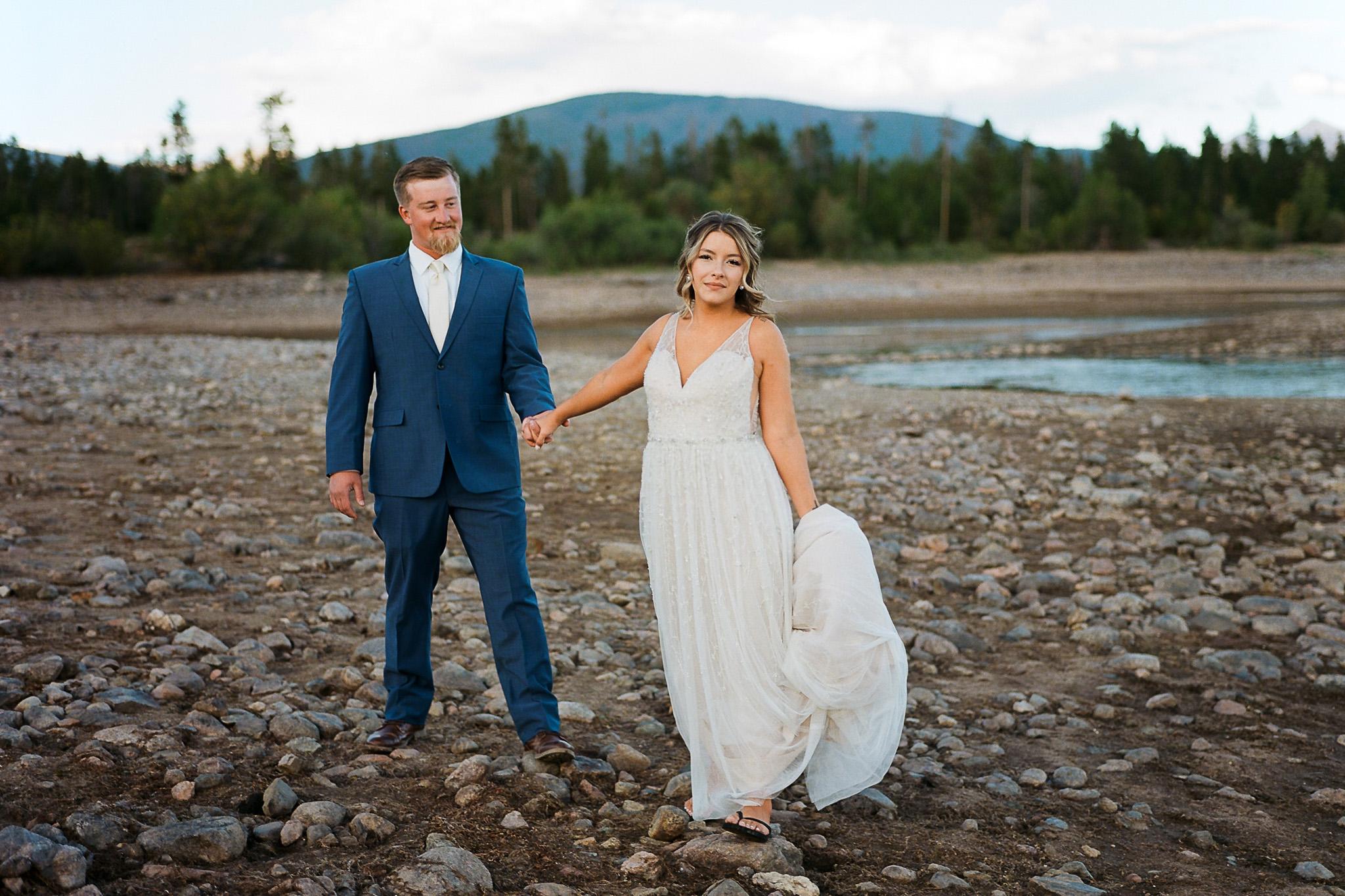 Colorado Mountain Wedding Fine Art Film Photography Dillon Colorado-14.jpg