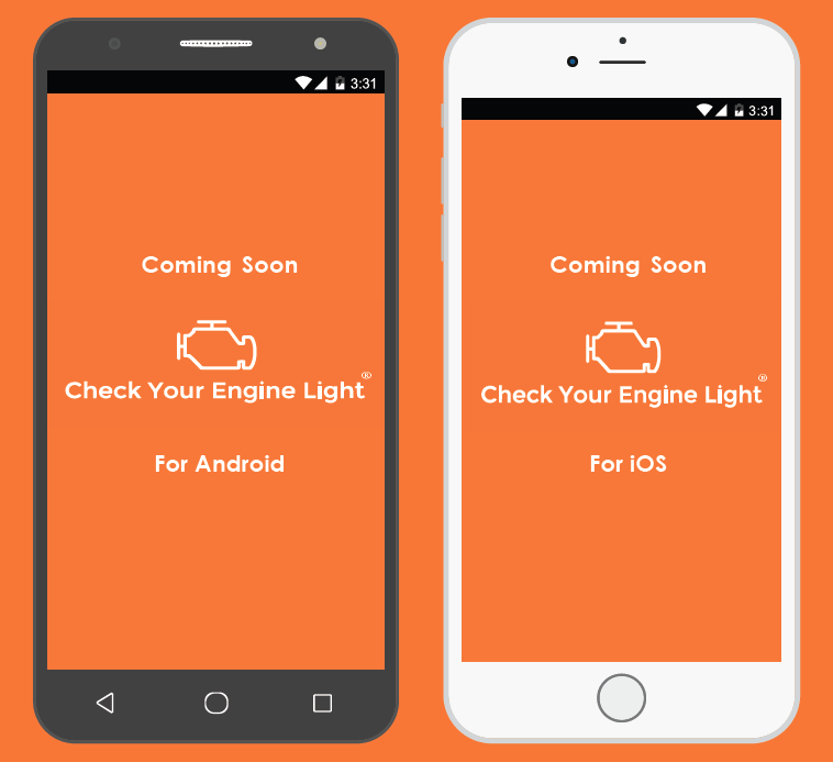 We're working hard to bring you an awesome mobile experience! - The Check Your Engine Light app is coming soon and will be available for both Android and iOS.Unlike some of our competitors, we left the CYEL Adapter unlocked so you can get the most out of it by using many apps. Below are some options available on the Google Play store and Apple App store. You can watch app reviews on the VIDEOs Webpageand on the CYEL YouTube Channel.SUBSCRIBE at the bottom of this page to keep notified &updated with CYEL developments!