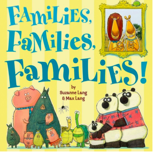 No matter what your family looks like, family is family.. This is an adorable book!! Children love the colorful illistrations and the message is incredible sweet.