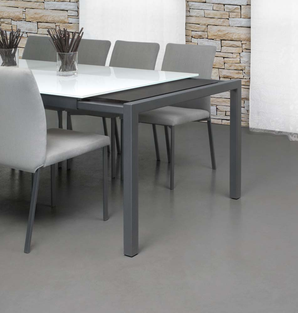 Extension Dining Table 9003 Ewf Modern Furniture
