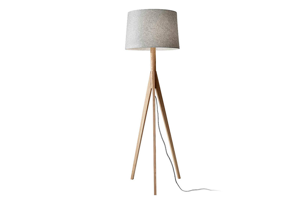 "FLOOR LAMP 4730   Ø18.5"" / H59"" /  shade Ø18"" / shade H12"""