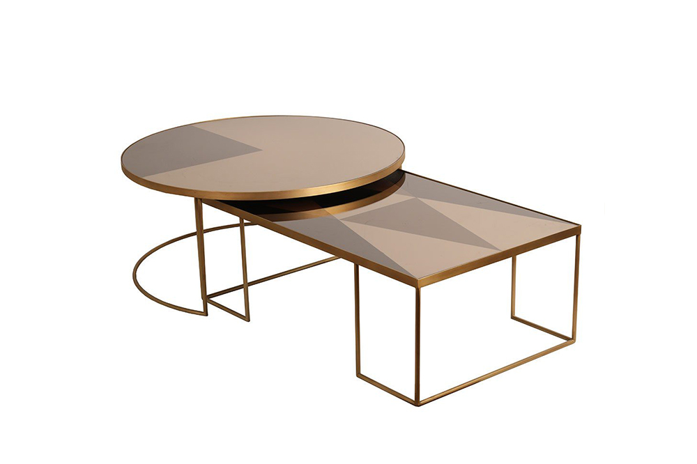 Geoemtric coffee table