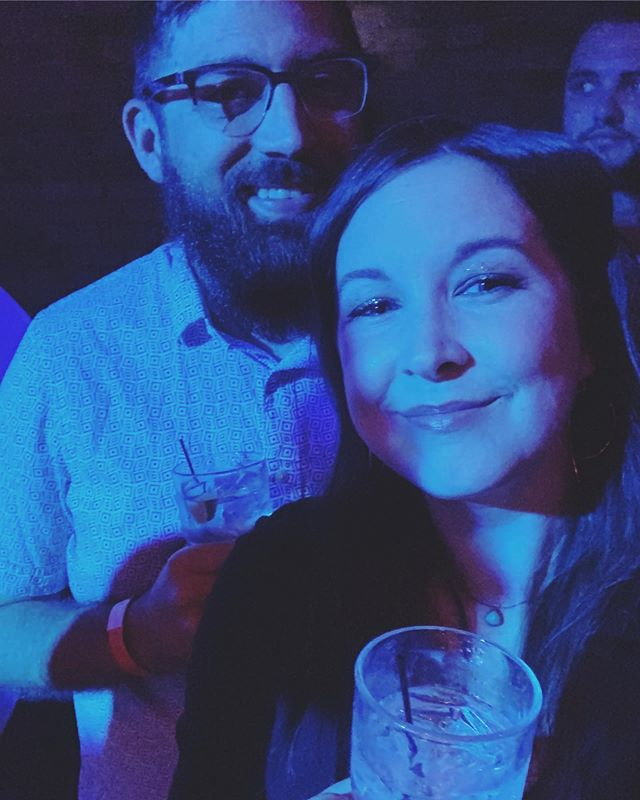 I'm still utterly stunned from last night. Drag is such an incredible art form, especially live, and especially while sharing it with your love on your anniversary. Glad we have each other, @jonesydesign ❤️ • #dragshow #thesaloonmn #bestanniversaryever