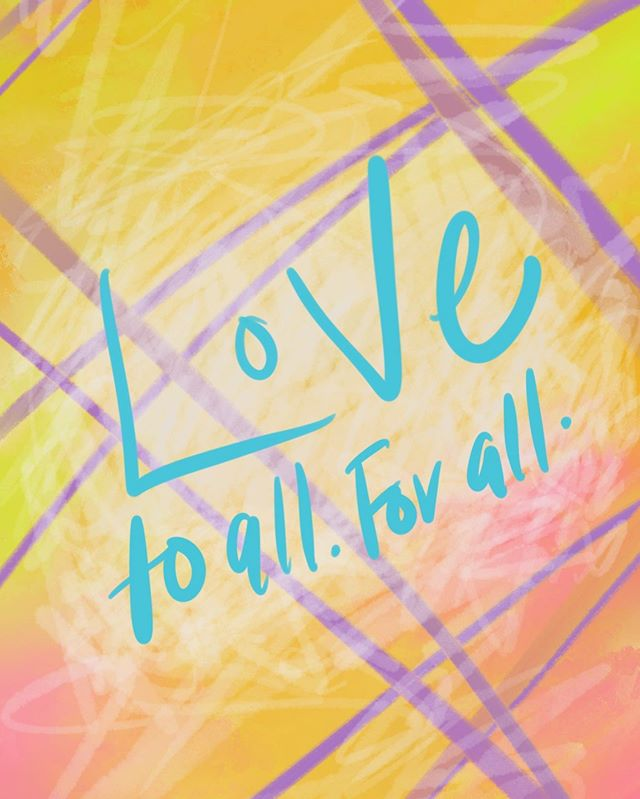 Feeling very inspired by #pride and its message of love for all. Everyone deserves love and to be able to express their authentic selves 🏳️‍🌈 • #loveislove #lovetoall #loveforall #happypridemonth #getyourlife #madewithprocreate #abbyabbyabby