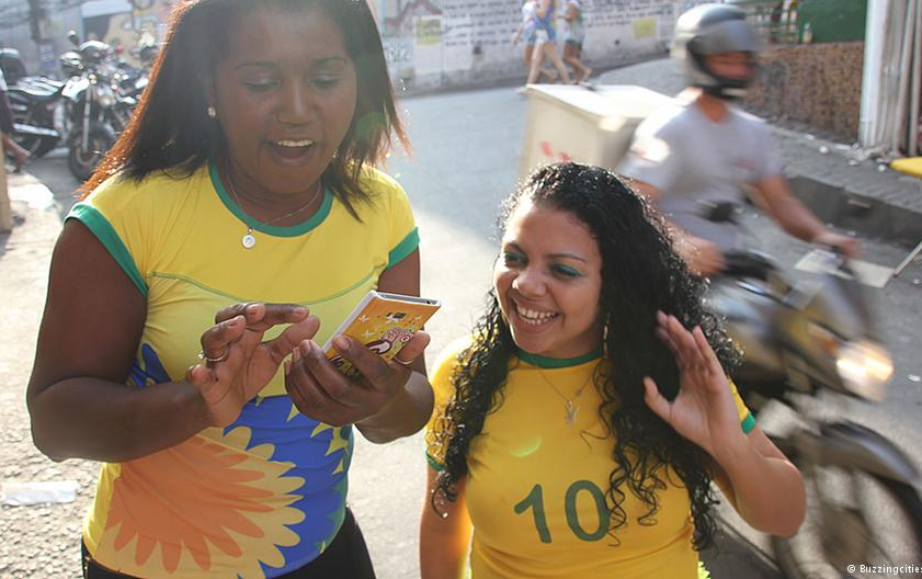 Over 50% of people in Rio's biggest slums are online