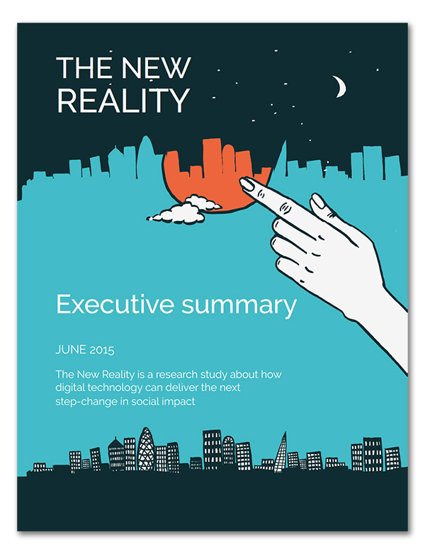 Cover of the executive summary