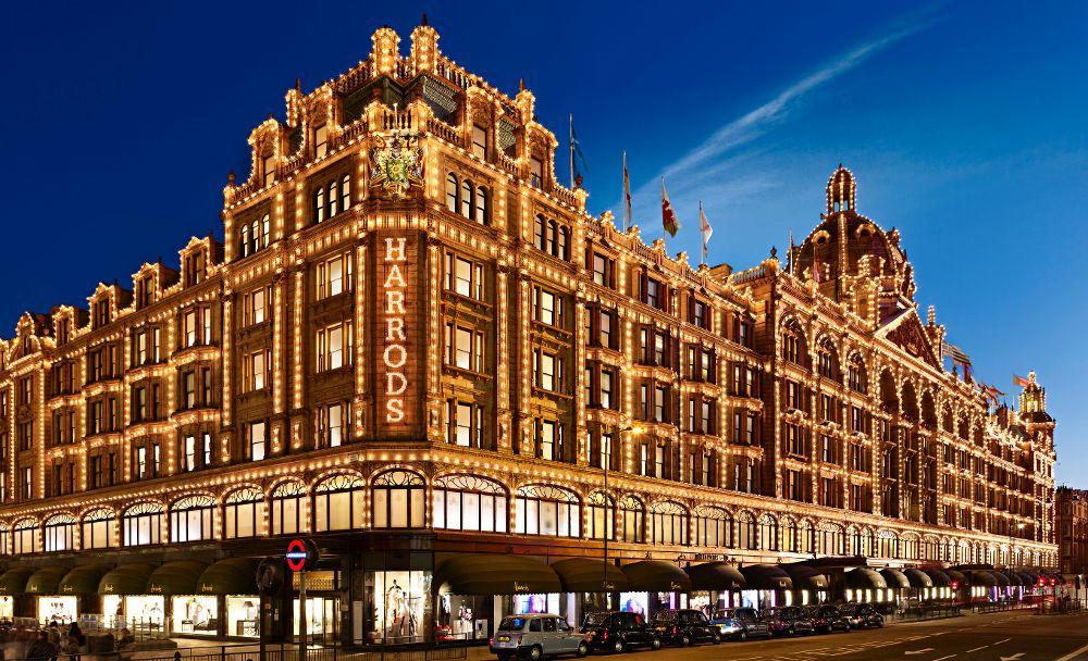 THE crime scene - Harrods (
