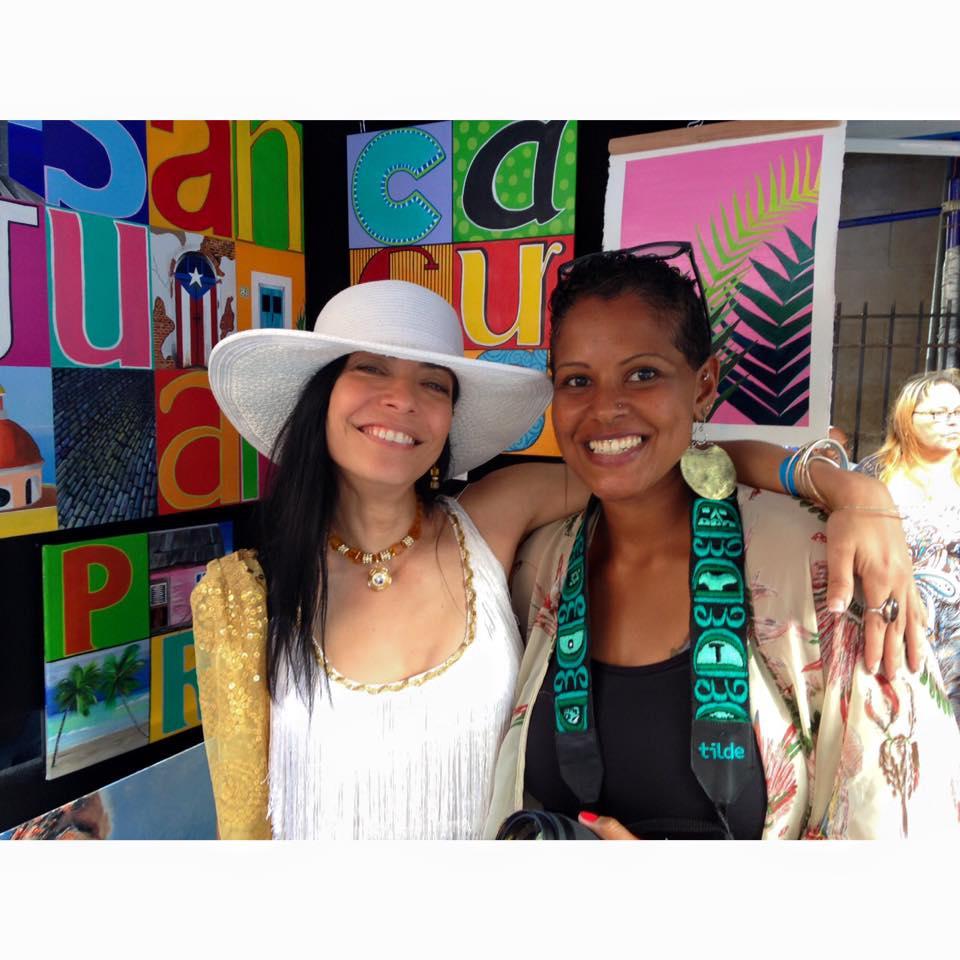 Lena del Sol Langaigne & La Bruja_Loiza Festival
