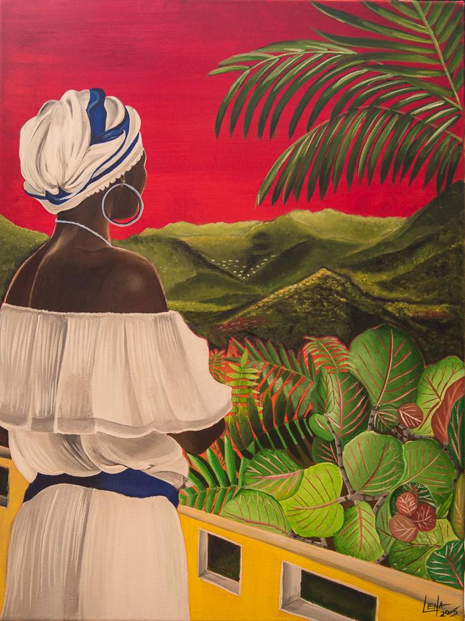 """""""Raices"""" by Lena del Sol Langaigne"""