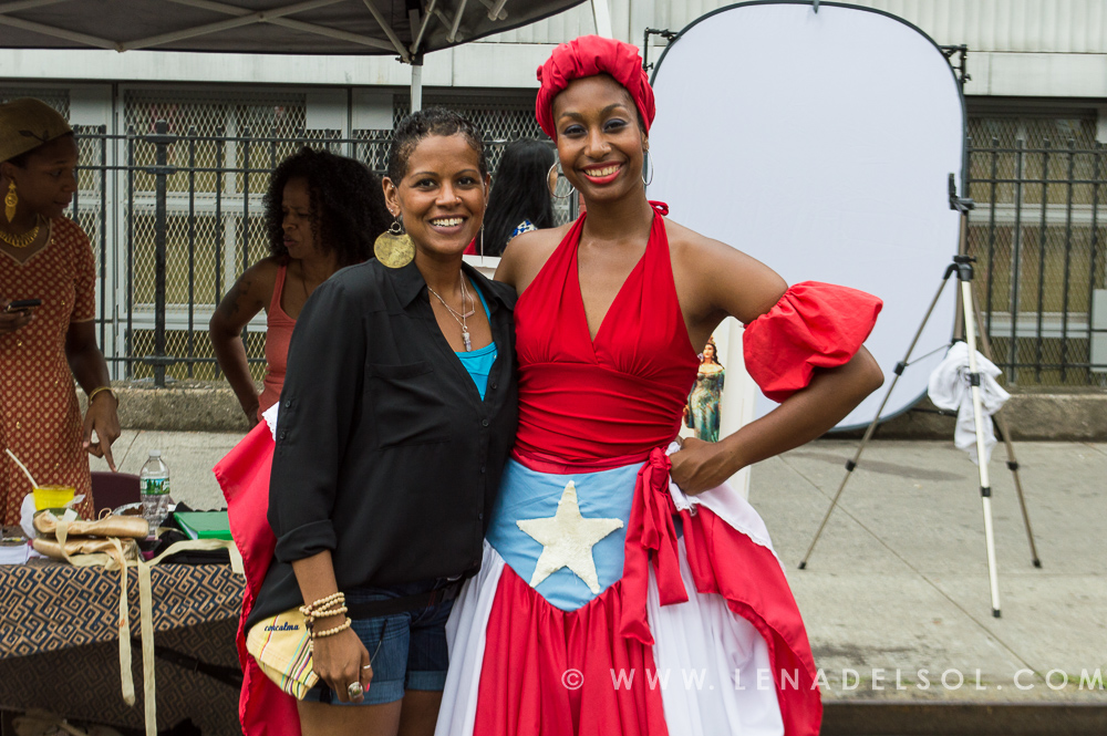 Lena del Sol & Milteri Tucker of Bombazo Dance Co.