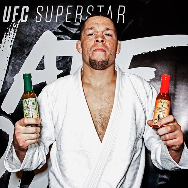 Sending all the good vegan vibes to our badass brother @natediaz209 tonight @thegarden in NYC for total domination at tonight's main event #ufc #ufc244  We were lucky enough to hang with Nate in Saratoga last year @eddiefyvie  Obviously Nate has the best taste in hot sauce. #badass #badassmotherfucker #vitaleats #vitaleatsllc  #nyceats #newyork #vegan #plantpowered #hot #spicy #hotsauce #vegansofig #veganfoodshare #veganHD #plantbased #truecooks #eatingnyc #f52grams #plantbased #thrivemags  #dailyfoodfeed #iloveny #nyc #madeinny #veganbombs #veganshares #manifest